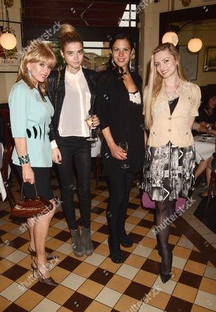 Sally Farmiloe, Jade farmiloe, Zoe Griffin and Lana Holloway