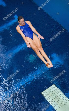 British Olympic diver, Monique Gladding