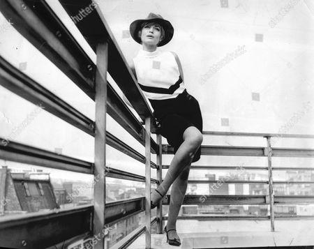 Editorial picture of German Actress Margit Saad In 1966.