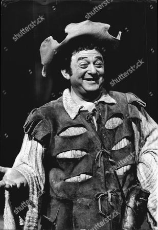 Editorial picture of Actor Bernard Spear As Sancho Pansa In Production Of Man Of La Mancha In 1968.