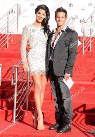 Miss USA 2010 Rima Fakih and Jeff Timmons