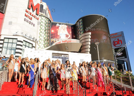 Editorial image of Official Welcome Event for the Miss USA Pageant at Planet Hollywood, Las Vegas, America - 06 Jun 2011