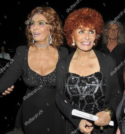 Sophia Loren and sister Maria Scicolone