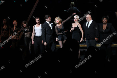 Editorial picture of 'Chicago The Musical' on Broadway, Curtain Call at the Ambassador Theatre, New York, America - 07 Jun 2011