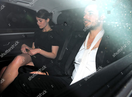Gemma Arterton and Stefano Catelli