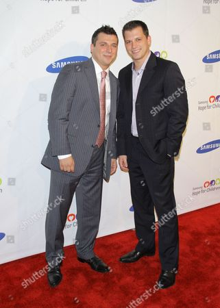 Christopher Manzo and Albie Manzo