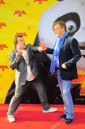 Jack Black and Hape Kerkeling