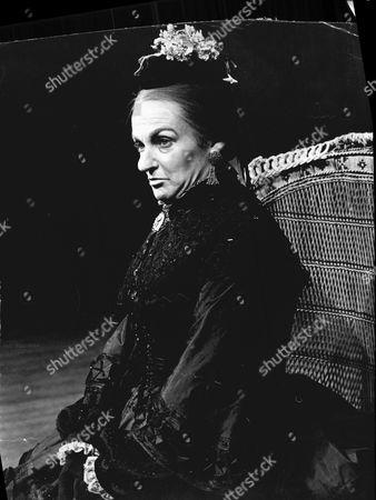 Actress Moira Redmond As Queen Victoria In 1969.