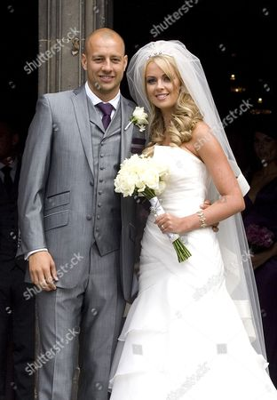 Alan Hutton and Kylie Mortimer
