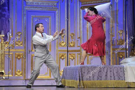 Michael Matus as Tito Merelli and Joanna Riding as Maria Merelli