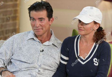 Eddie Kidd with his wife Sami