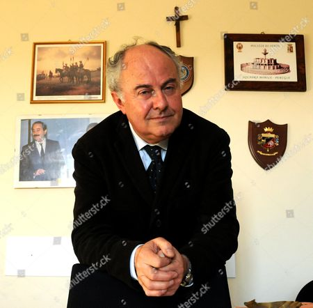 Stock Photo of Prosecutor Giuliano Mignini