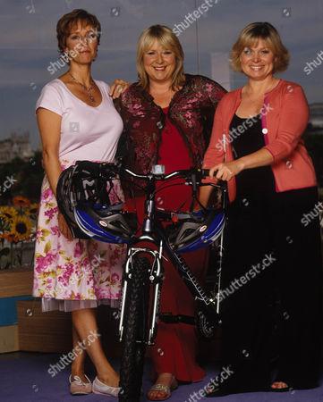 Shu Richmond, Fern Britton and Julie Dawn Cole