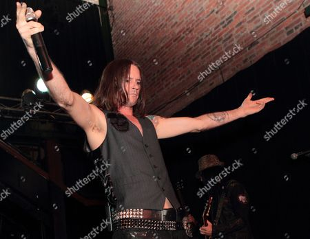 Editorial photo of 'Adler's Appetite' in concert at Bourbon Street in Baltimore, Maryland, America - 06 Jun 2011