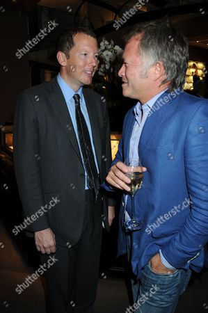 Nat Rothschild and guest