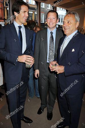 Crown Prince Pavlos of Greece, Nat Rothschild and Taki Theodoracopulos