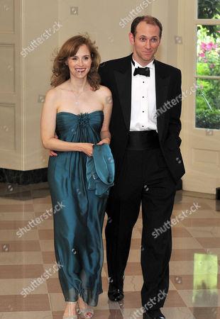 Austan Goolsbee, Chairman, Council of Economic Advisors, and his wife Robin