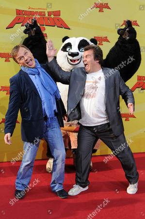 Hape Kerkeling and Jack Black