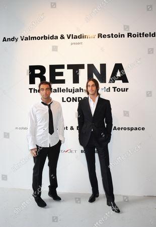Andy Valmorbida and Vladimir Restoin-Roitfeld