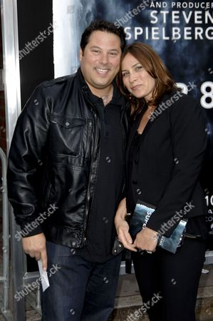 Greg Grunberg & wife Elizabeth Dawn Wershow
