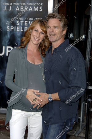 Stock Picture of Joshua Cox & wife Wendy Braun