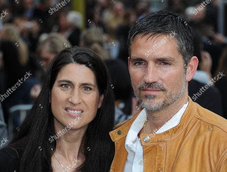 James Caviezel and wife Kerri Browitt