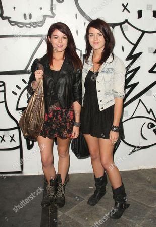 Jade Ramsey and Nikita Ramsey