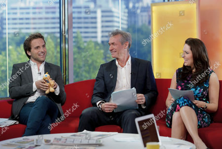 Steve Hargrave, Dr Hilary Jones and Grainne Seoige