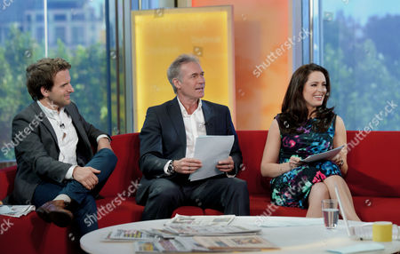 Stock Picture of Steve Hargrave, Dr Hilary Jones and Grainne Seoige