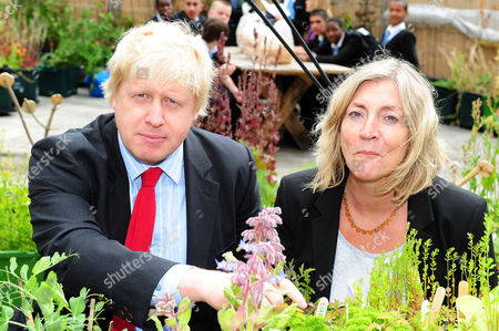 Boris Johnson and Rosie Boycott