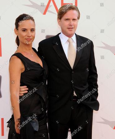 Cary Elwes and wife Lisa Marie Kurbikoff