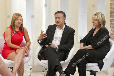 Jade Meade, Dr Aamer Khan and Lesley Reynolds Khan
