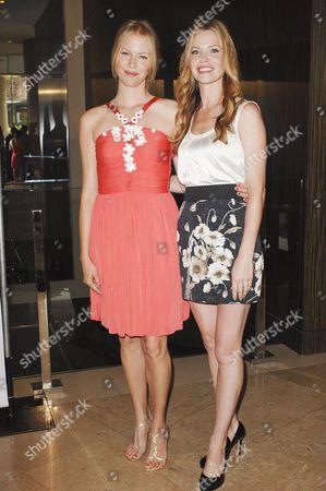 Stock Image of Melissa Sagemiller, Sarah Jane Morris