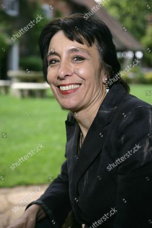 Editorial photo of Stella Tillyard promotes her book 'Tides of War', The Watermill Theatre, Newbury, Britain - 10 Jun 2011