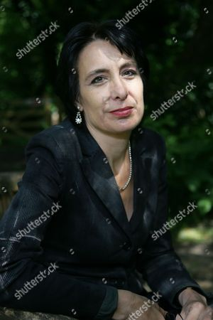 Editorial image of Stella Tillyard promotes her book 'Tides of War', The Watermill Theatre, Newbury, Britain - 10 Jun 2011