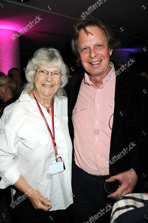 Stock Photo of Vicki Wickham and Joe Boyd