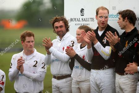 Prince Harry, Jose Donoso, Mathilda Wood, Prince William, Malcolm Borwick