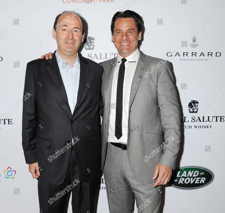 Stock Photo of Christian Porta CEO of Chivas Brothers, Eric Deardorff CEO of Garrard