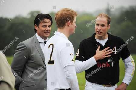 Eric Deardorff, CEO of Garrard, Prince Harry and Prince William