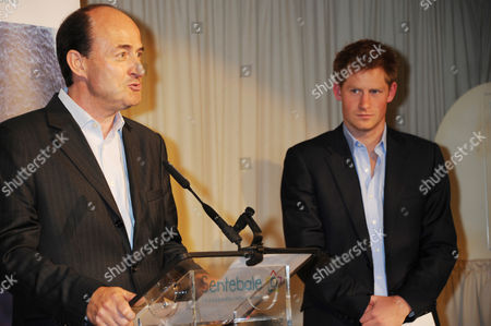 Christian Porta CEO of Chivas Brothers and Prince Harry
