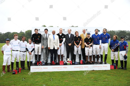 Prince Harry, Jose Donoso, Mathilda Wood, Malcolm Borwick, Eric Deardorff CEO of Garrard, Prince Seeiso, Prince William, Christian Porta CEO of Chivas Brothers