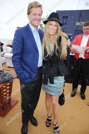 Rob Hersov and Laura Comfort