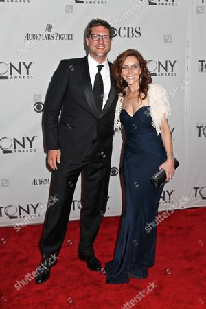 Christopher Sieber and Andrea McArdle