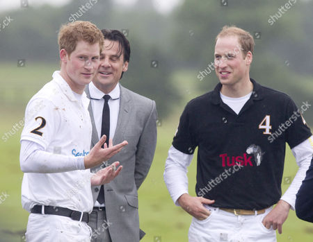 Prince Harry, Eric Deardorff and Prince William