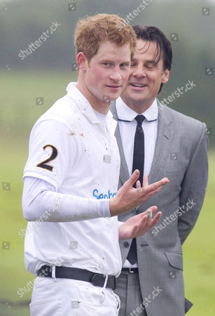 Prince Harry and Eric Deardorff