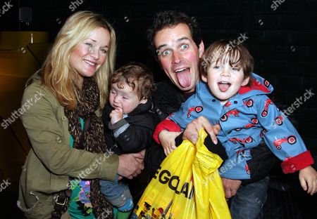 Sandi Lee Hughes, Dominic Wood and family