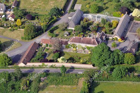Home of top international crime writer Minette Walters. Whitcombe Manor, Whitcombe, Dorset, Britain.