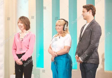 Dr Jack Lewis with Katie Wayne and Lisa Birch