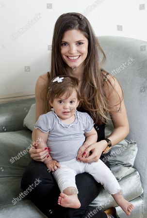 Carly Zucker with her daughter Ruby