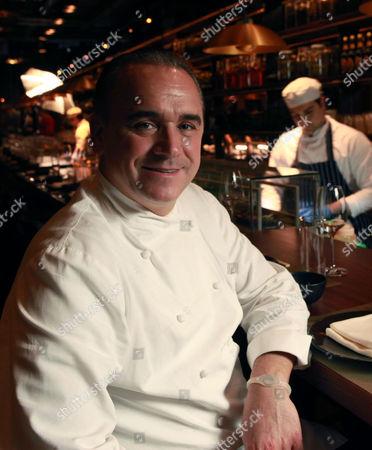 Stock Picture of Restauranteur Jean-Georges Vongerichten